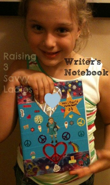 Writer's Notebook Decorate with Duck Tape