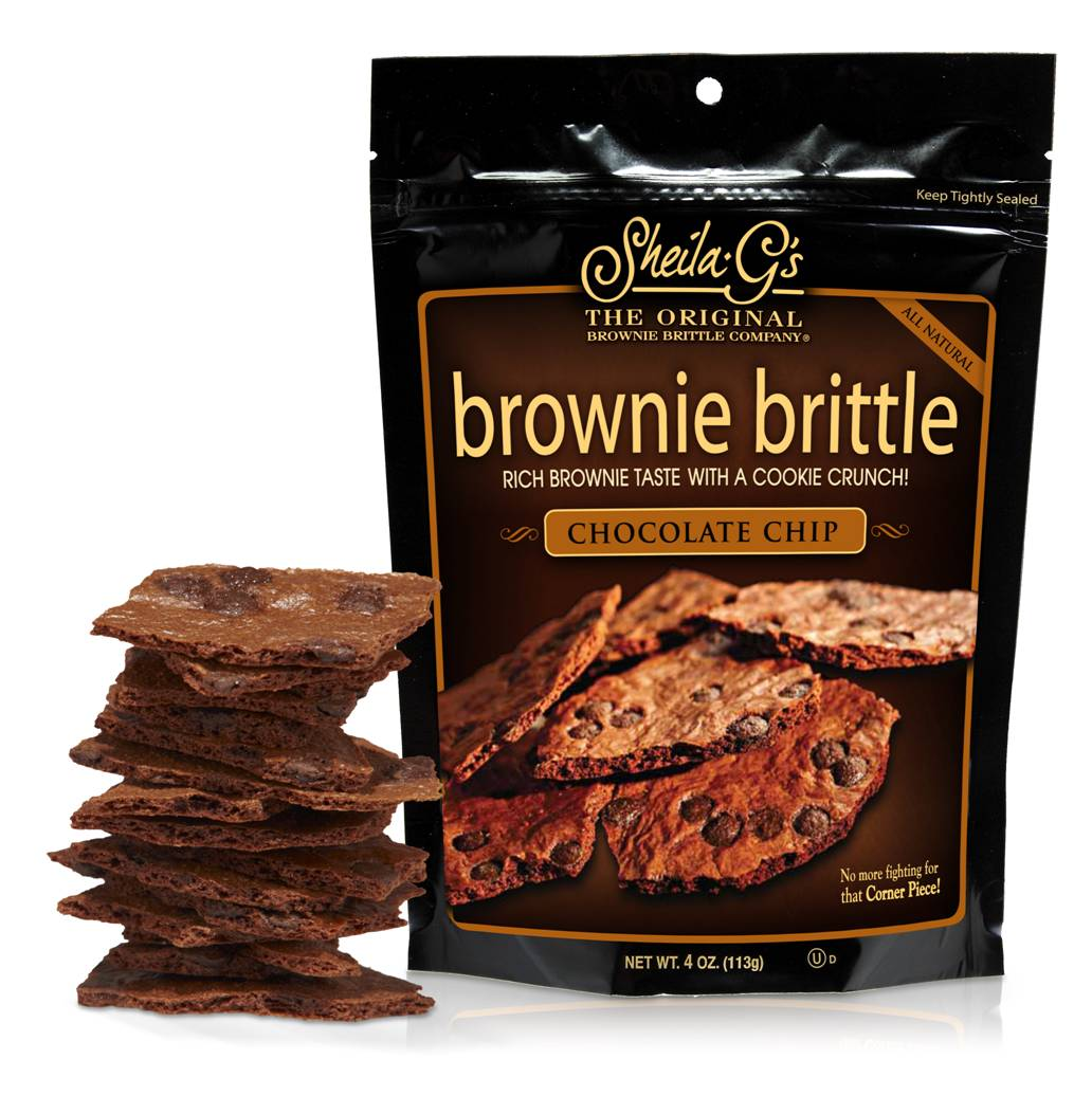 win a sampler pack of crunchy yummy brownie brittle