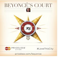 Beyonce Crest