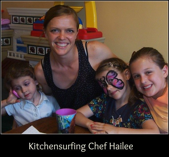 What is kitchensurfing for Chef comes to your house