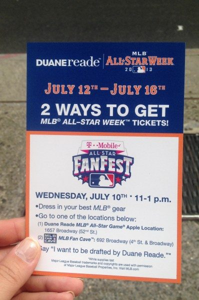 Duane Reade MLB FanCAve