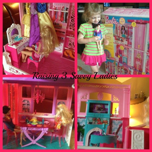 Barbie Dreamhouse Collage