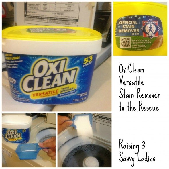 Oxiclean stain remover