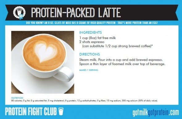 Protein-Packed Latte