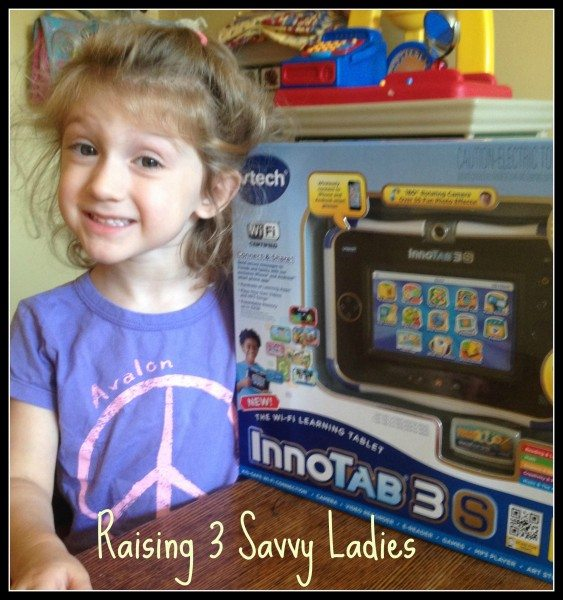 Innotab 3S VTech Giveaway - Raising 3 Savvy Ladies
