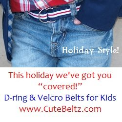 Cute Beltz Nautical Boys Belt_