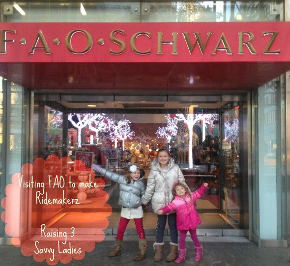 Raising 3 Savvy Ladies at FAO