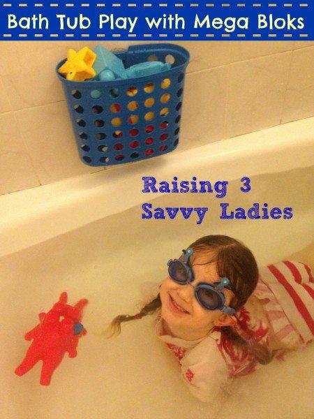 Bath Tub Play #FirstBuilders