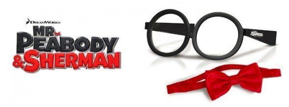 Mr Peabody &Sherman -GlassesBowTie