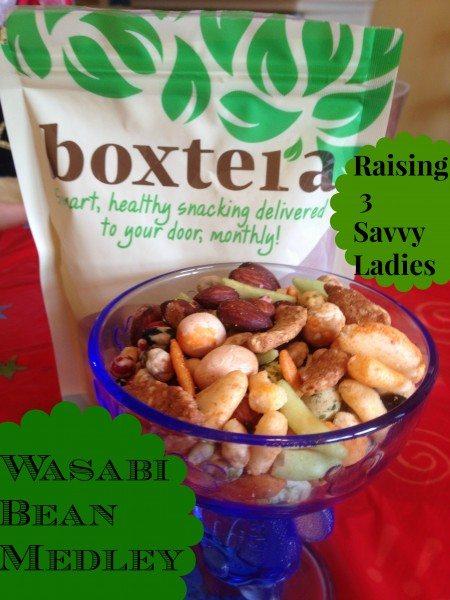 Wasabi Bean Medley Boxtera