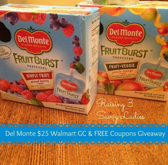 Delmonte $25 Walmart Giveaway