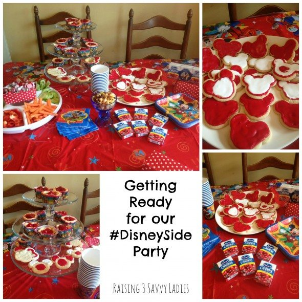 DisneySide Party #DisneySide Raising 3 Savvy Ladies