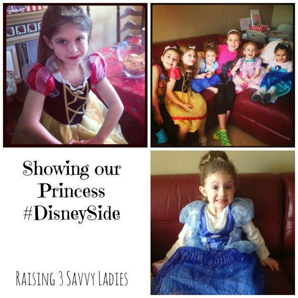 DisneySide Party - Raising 3 Savvy Ladies  Princess