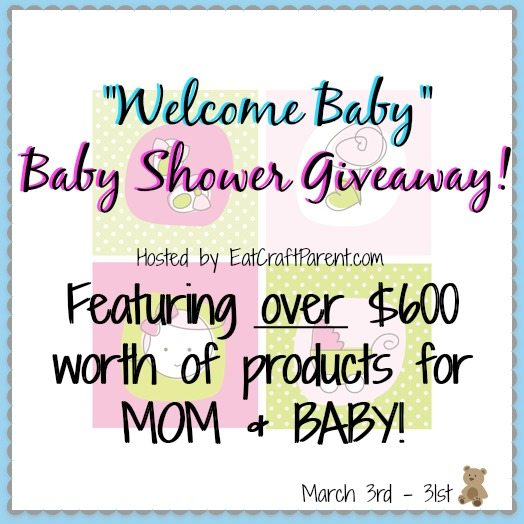 Enter to win over 600 worth of products for mom and baby