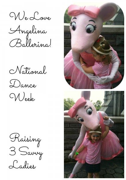 Angelina Ballerina  Raising 3 Savvy Ladies