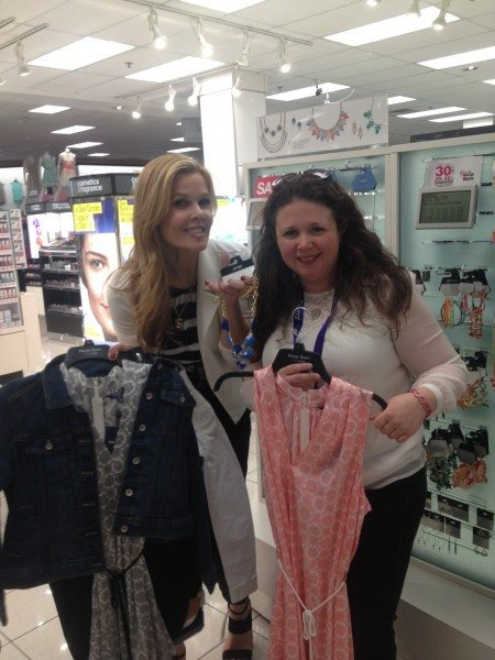 Shopping with Mary Alice Stephenson at Kohls