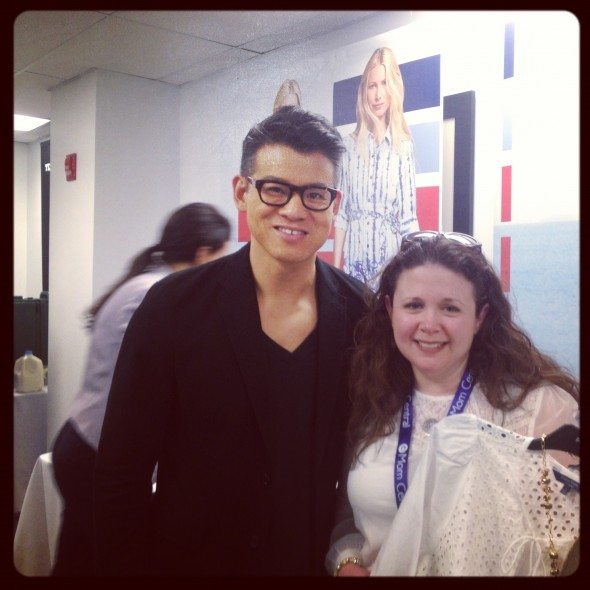 Peter Som and @SavvyMomNYC at Kohls
