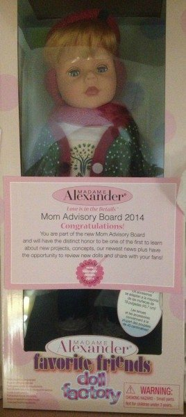 Madame Alexander Favorite Friends Doll Factory