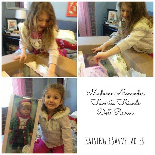 Madame Alexander Favorite Friends Raising 3 Savvy Ladies