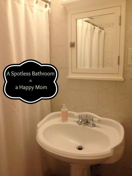 My Clean Review - Bathroom Raising 3 Savvy Ladies