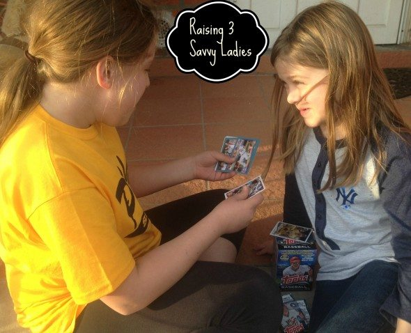 Raising 3 Savvy Ladies - Topps Cards