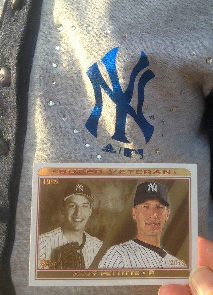 Topps Yankee Card