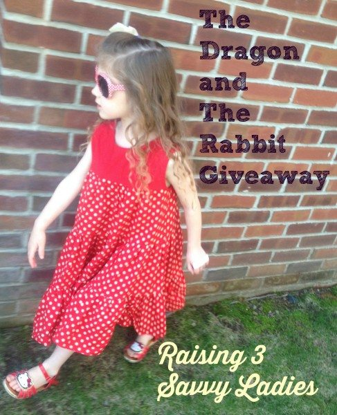 a Raising 3 Savvy Ladies Dragon and the Rabbit