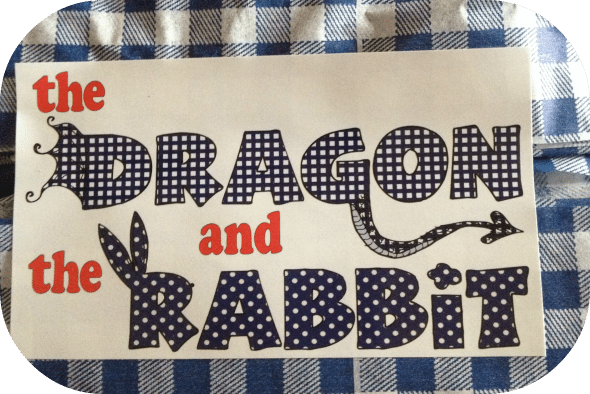 a dragon and the rabbit