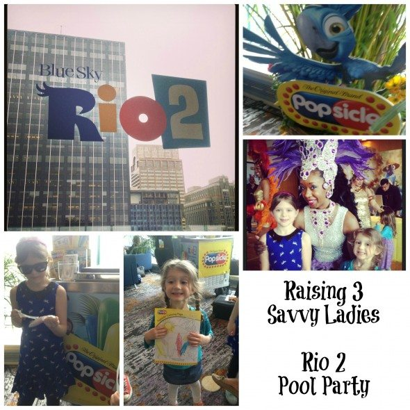 rio 2 pool party