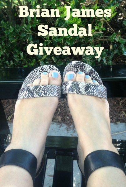 Brian James Sandal Giveaway
