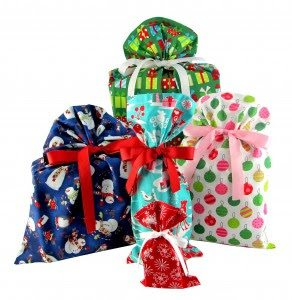 Christmas in July VZ Wraps Eco Friendly Fabric Gift Bags Giveaway1