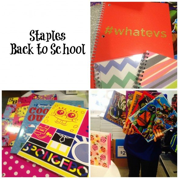 Staples Back to School Supplies