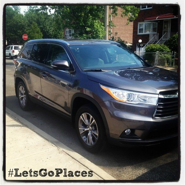 #LetsGoPlaces Toyota Highlander