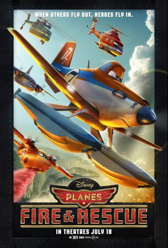 Disney' PLANES: FIRE & RESCUE
