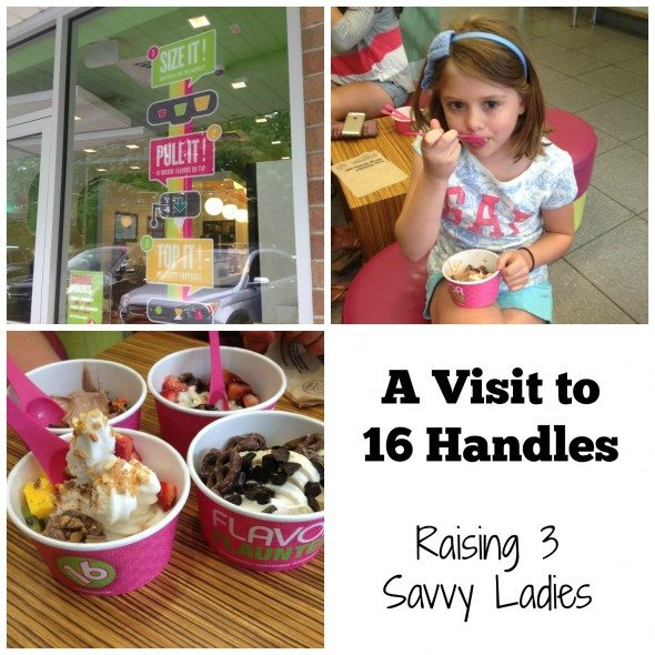 16 handles Collage