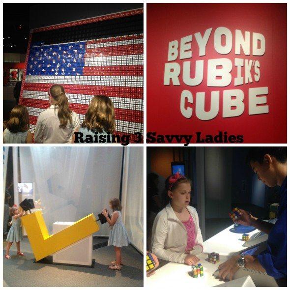Beyon Rubiks Cube Exhibit R3SL Collage