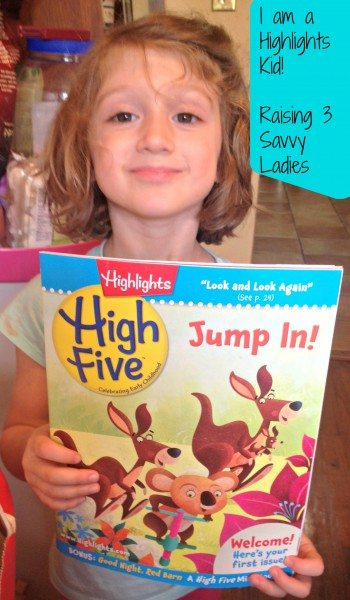 Highlights Kid -Raising 3 Savvy Ladies