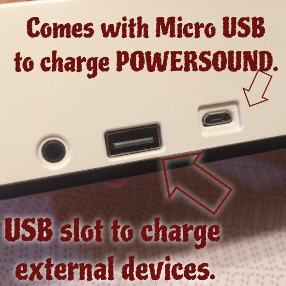 Powersound II charging