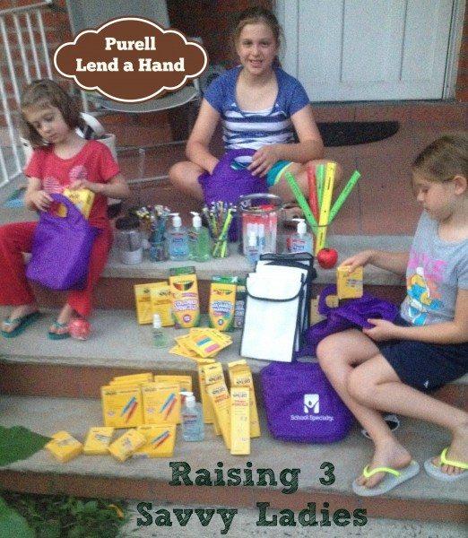 Raising 3 Savvy Ladies #PurellLendaHand