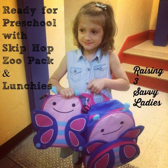 Skip Hop Butterfly Bakpack & Lunchies