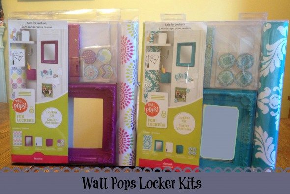 Wall pops locker kit review for Locker decorations you can make at home