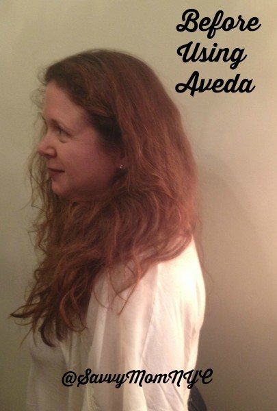 Aveda Before Pic