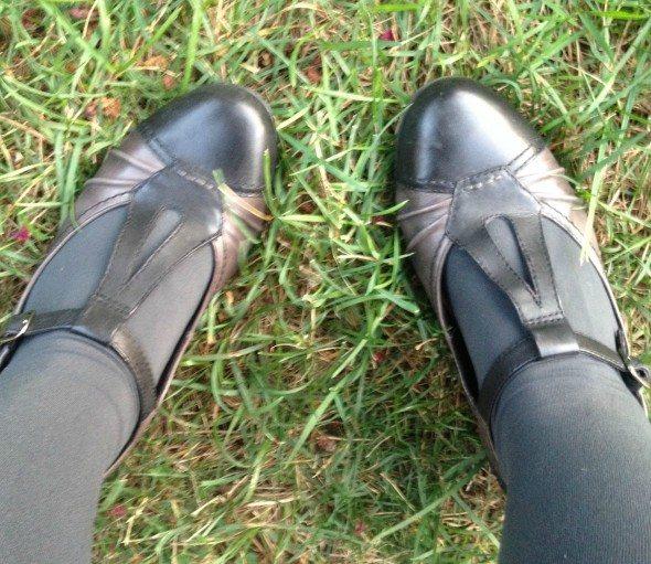 Mary Jane Earth shoe