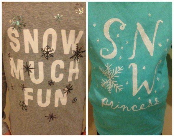Snow T-shirts