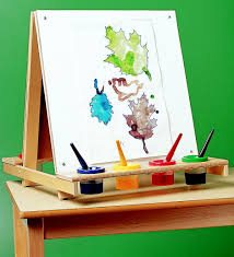 a table top easel