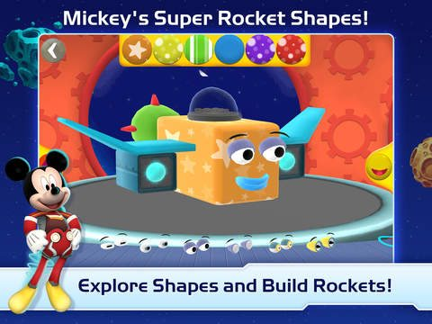 Disney Shapes app
