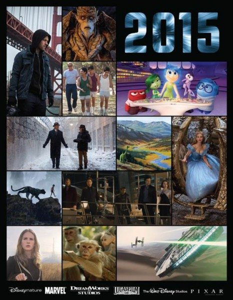 2015 Disney Movie Releases
