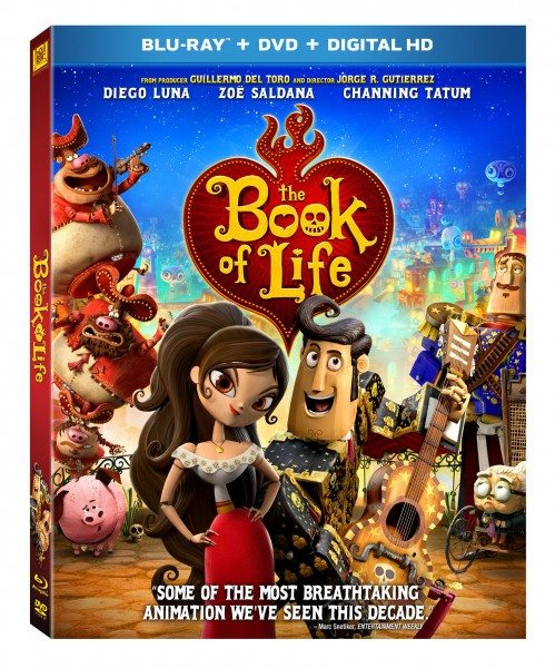 BookofLife DVD Giveaway