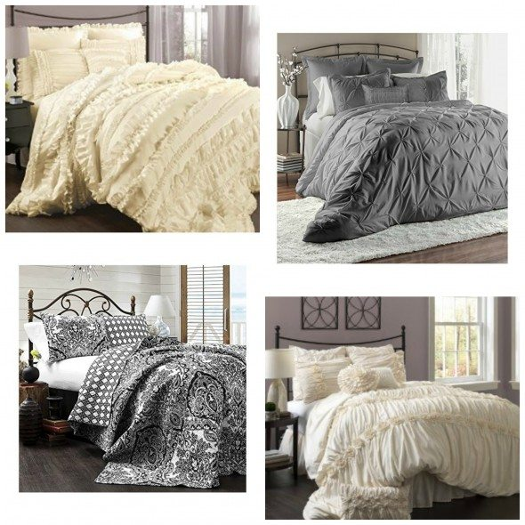 Lush Decor Bedding Collage