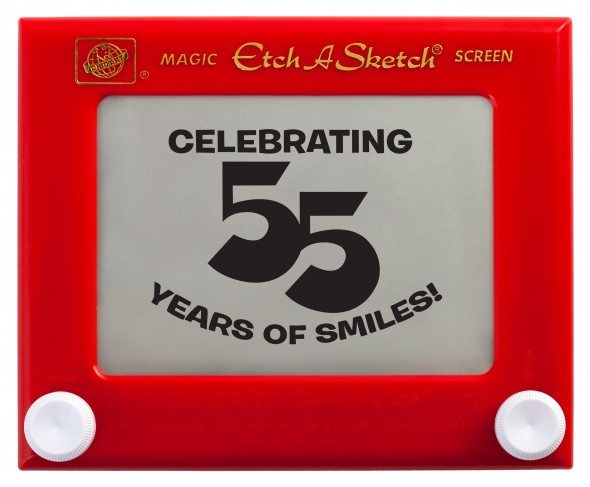 Etch a Sketch Turns 55